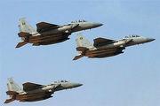 بمباران مواضع تروریست ها را در ادلب توسط جنگنده های روسیه