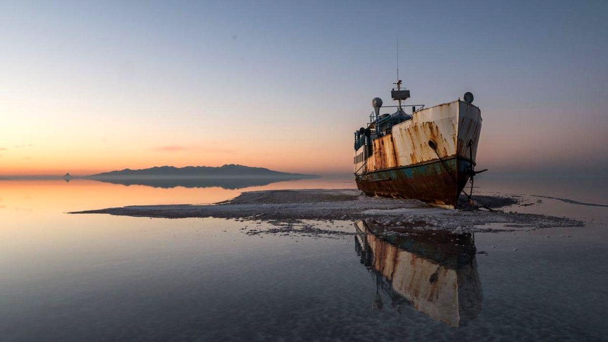 تراز دریاچه ارومیه کاهش یافت