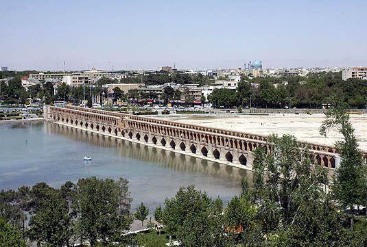 هوای اصفهان سالم است / شاخص کیفی هوا 80