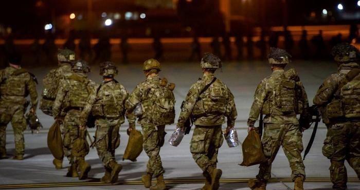 خروج نیروهای آمریکایی از ۵ پایگاه در افغانستان