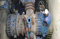 دو شیرخط اصلی بدون اعمال قطع آب در شهر نوسازی شدند