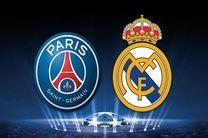 پخش زنده بازی رئال مادرید و پاری سن ژرمن از شبکه سه سیما