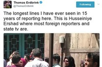 نشریه آمریکایی نیویورک تایمز: حضور مردم ایران در انتخابات کم سابقه است