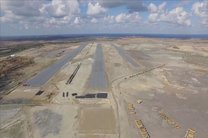 پروژه باند دوم فرودگاه زاهدان افتتاح شد