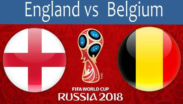 ساعت بازی انگلیس و بلژیک در جام جهانی