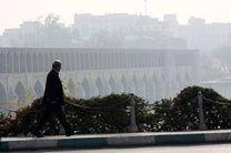 کیفیت هوای اصفهان ناسالم برای گروه های حساس