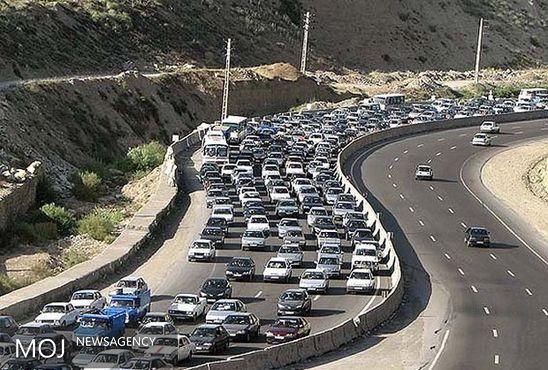 اعمال محدودیت ترافیکی در جادههای منتهی به شمال