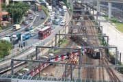 Train derail in Hong Kong left 8 injured