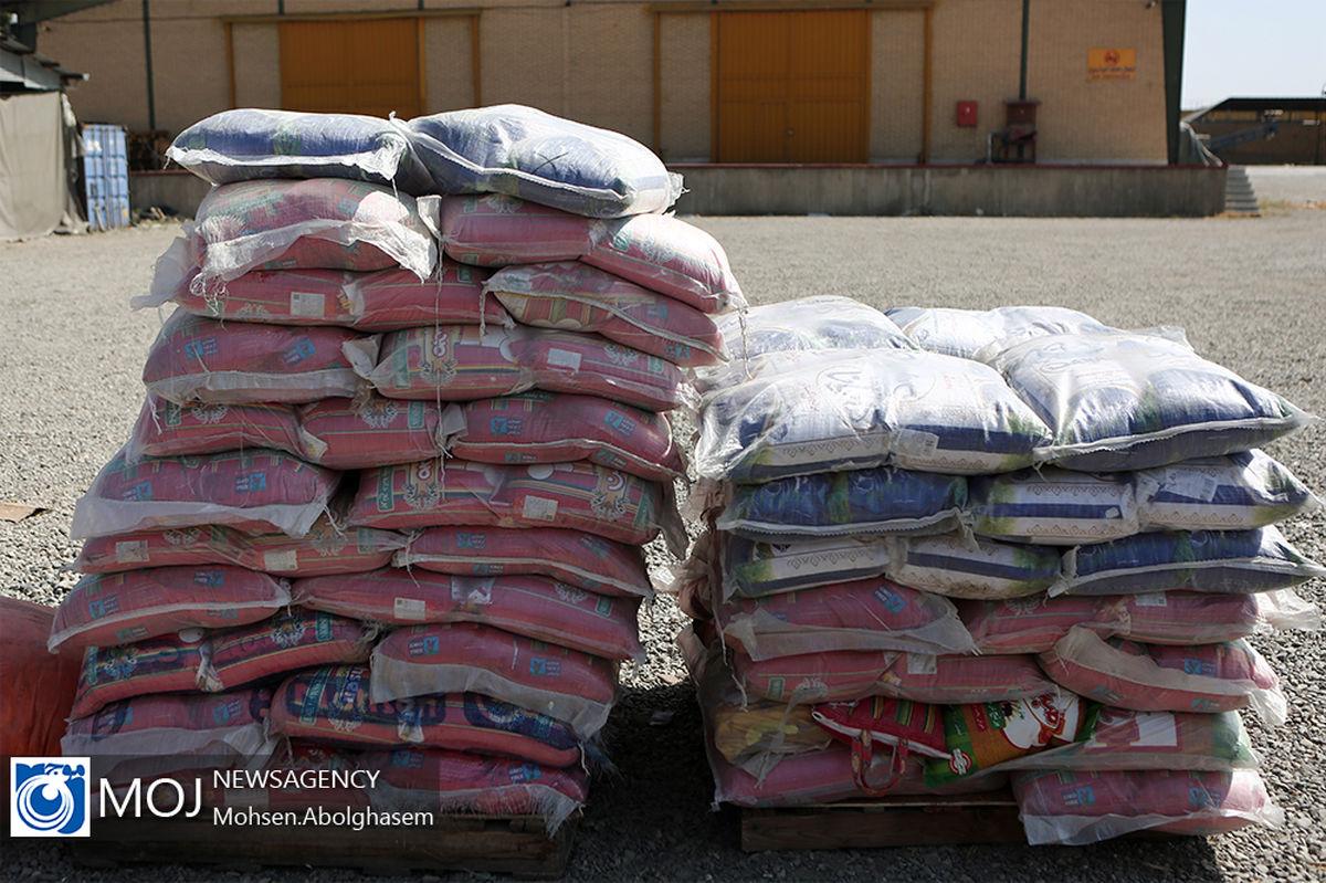 کشف بیش از 48 تن برنج قاچاق در نائین