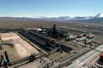 دست یابی به رکورد تولید ماهانۀ آهن اسفنجی در شرکت فولاد سفید دشت