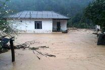 خسارت سیل به 50 واحد مسکونی و تجاری 5روستای دهستان ضیابر صومعه سرا