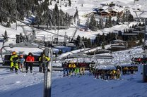 2 کشته و 22 زخمی در آتش سوزی پیست اسکی در فرانسه