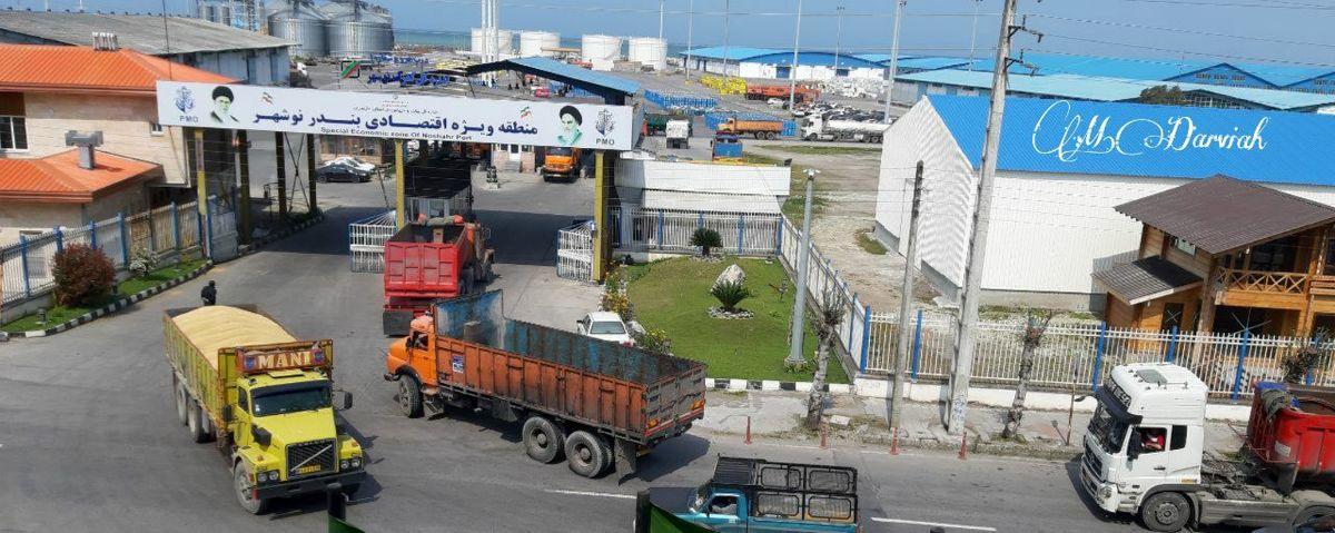 رشد 40 درصدی افزایش صادرات از گمرکات استان مازندران