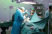 نخستین مرحله جراحی تومور مغزی کودکان در بیمارستان روحانی بابل انجام شد