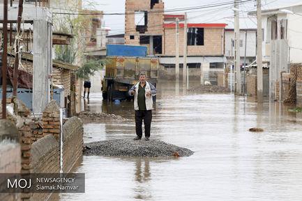 روستای سیل زده کل آباد