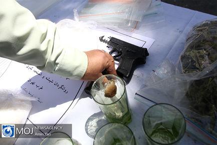 نمایشگاه کشفیات چهارمین طرح ظفر پلیس تهران