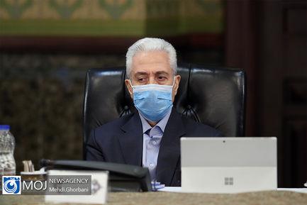 جلسه هیات دولت - ۲۷ فروردین ۱۳۹۹/ وزیر علوم غلامی