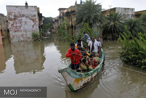 خشم طبیعت در شبه قاره / سیل با هندی ها چه کرد؟ + عکس