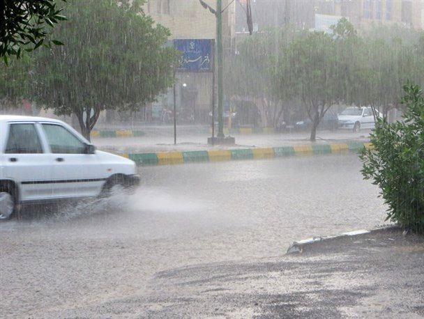 ماندگاری هوای سرد در هرمزگان/رگبار باران و رعدوبرق در اکثر نقاط استان