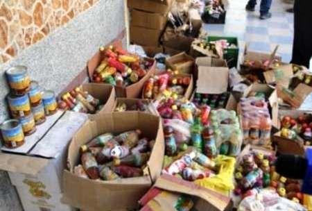 کشف حدود یک تن موادغذایی غیر بهداشتی در اصفهان