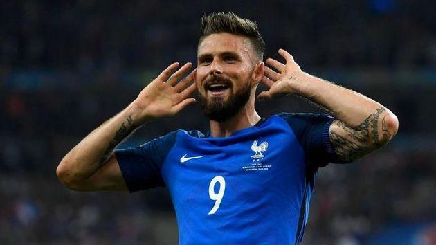 ژیرو میخواهد بهترین گلزن تاریخ فرانسه شود