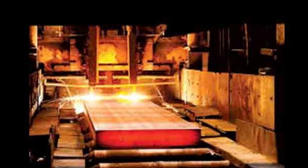 رشد ٧ درصدی تولید فولاد خام در فولاد مبارکه