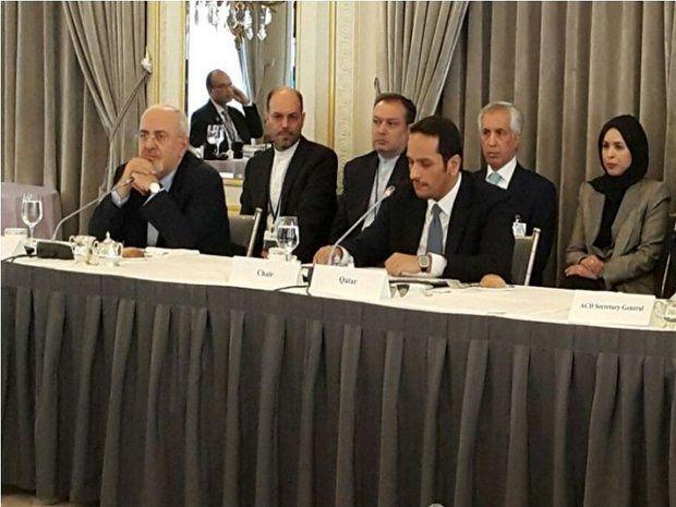 نشست مجمع گفتوگوهای آسیا به ریاست ظریف برگزار شد