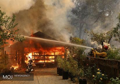آتشسوزی گسترده در جنوب کالیفرنیا