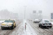 بارش برف و باران در جادههای ۶ استان کشور