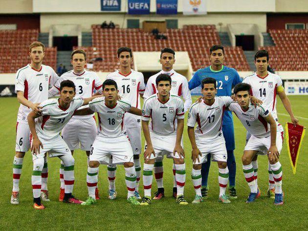 اعلام ترکیب تیم ملی فوتبال نوجوانان ایران برابر اسپانیا