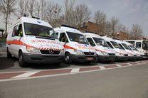 اعزام 8 مجروح تصادفات جاده ای به بیمارستان از طریق بالگرد