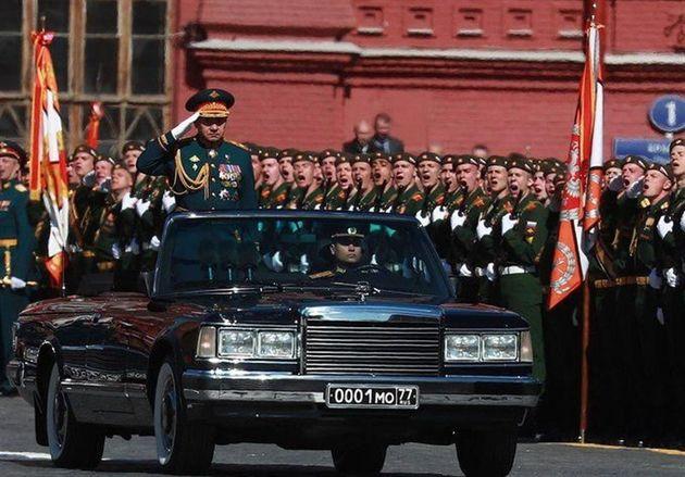 رژه نظامی در مسکو در سالگرد پیروزی در جنگ جهانی دوم