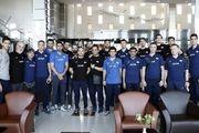 تیم ملی والیبال ایران به بلغارستان رسید