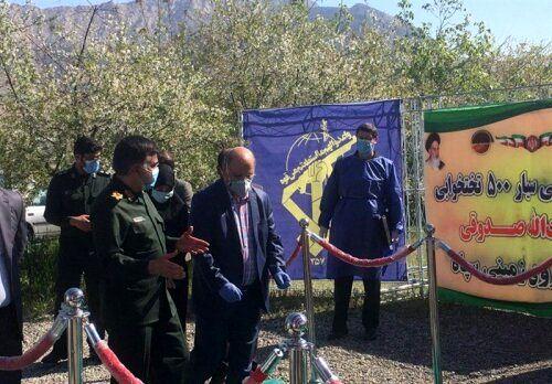 زالی از بیمارستان سیار آیت الله صدوقی نیروی زمینی سپاه بازدید کرد