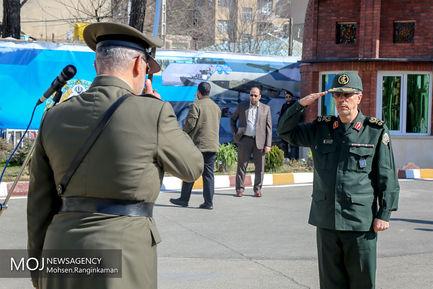 مراسم دانش آموختگی دانشجویان دانشگاه فرماندهی و ستاد ارتش