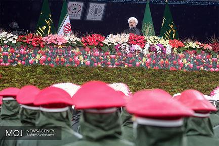 سخنرانی رییس جمهوری در جشن چهلمین سال انقلاب
