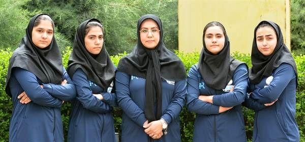 حضور تیم وزنه برداری بانوان ایران برای اولین بار در مسابقات بین المللی