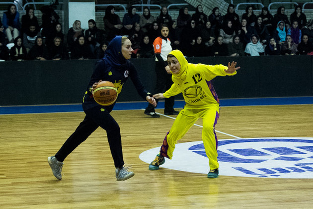 بازی های هفته سوم لیگ بسکتبال بانوان برگزار شد