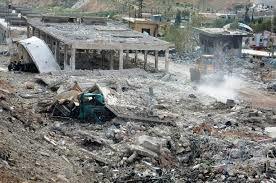 آمریکا کدام مناطق در دمشق را هدف حمله قرار داد؟