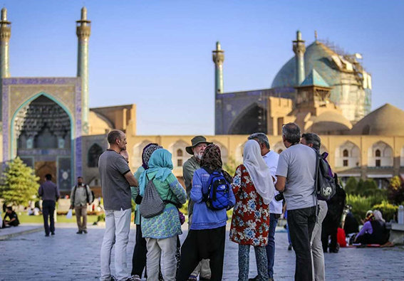 رشد 5 درصدی بازدید گردشگران خارجی  نسبت به سال گذشته در اصفهان