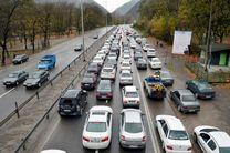 تردد خودروها در منطقه رودبار- لوشان سنگین  است/ تردد خودروها در جاده اردبیل- آستارا پرحجم اما روان است