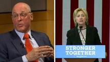 وزیر خزانهداری بوش و سندرز از هیلاری حمایت کردند