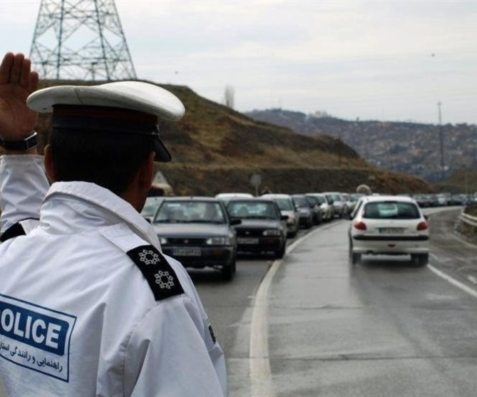 وضعیت ترافیکی امروز پنجشنبه ۳۱ خرداد اعلام شد