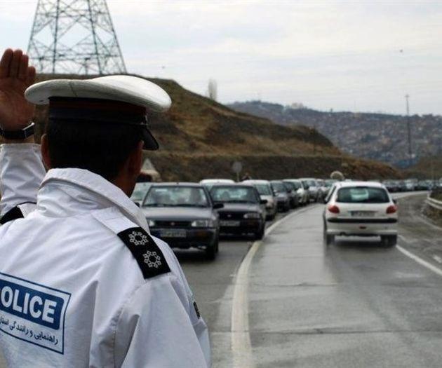 وضعیت ترافیکی راههای کشور در روز اول فروردین 97