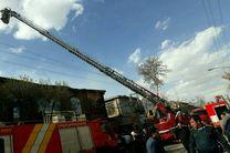 مهار آتشسوزی در کرمانشاه