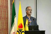 مساعدت شرکت گاز استان اصفهان با گلخانه داران در شهرستان تیران