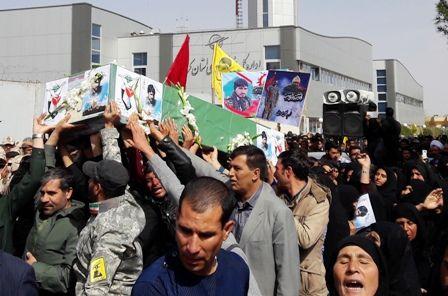 ورود پیکر شهید مدافع حرم به کرمان