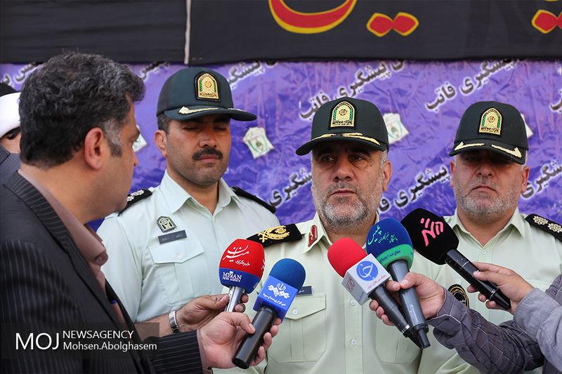 ردزنی متهم سکه ثامن از طریق پلیس اینترپل/ انهدام 34 باند سارقان در پایتخت