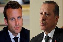 اردوغان به فرانسه رفت