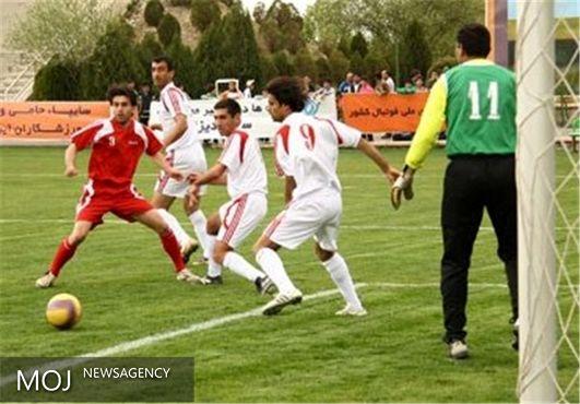 تیم فوتبال هفت نفره به مسابقات انتخابی قهرمانی جهان در دانمارک اعزام شدند